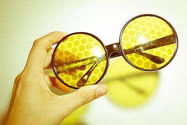 tinted prescription glasses from zenni optical