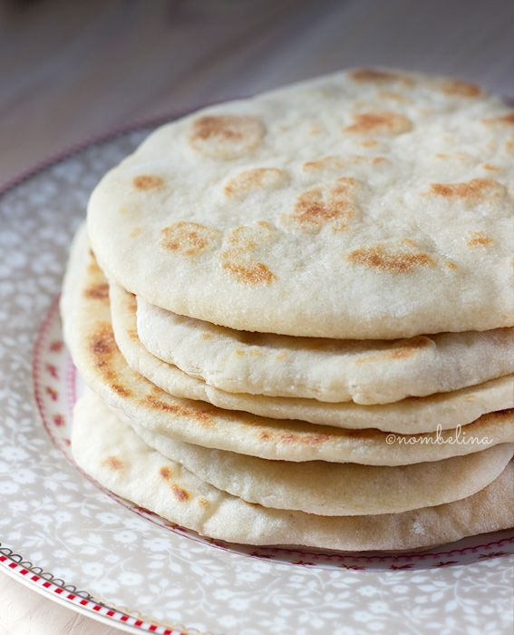 These Greek flat breads are easy to make and very versatile. Make a wrap with pulled pork or a vegetarian version with lots of vegetables and haloumi.