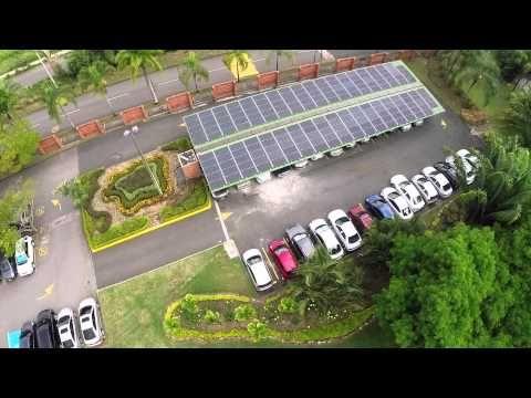 Sistema Solar Fotovoltaico de la Universidad Autónoma de Occidente