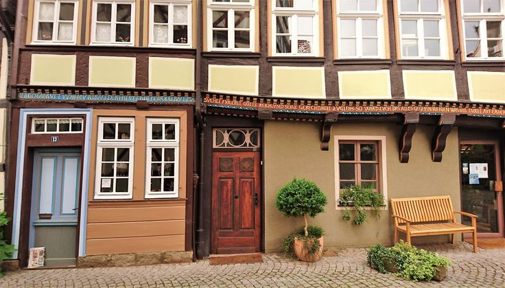 Clearly no building regulations applied...Hanoversch-Münden, germany