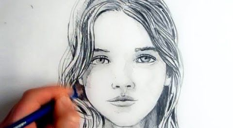 How To Draw A Female Face, Step By Step – Hildur.K.O