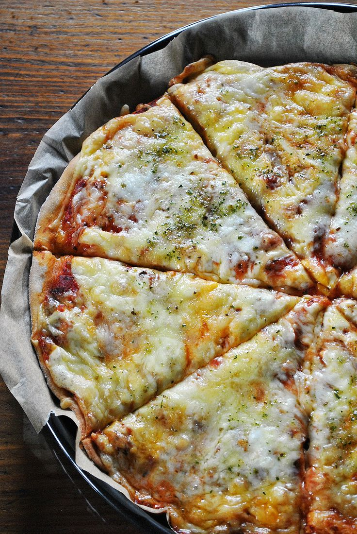 Küchenzaubereien: 6-Käse-Pizza oder auch: Death by Cheese - Pizza II