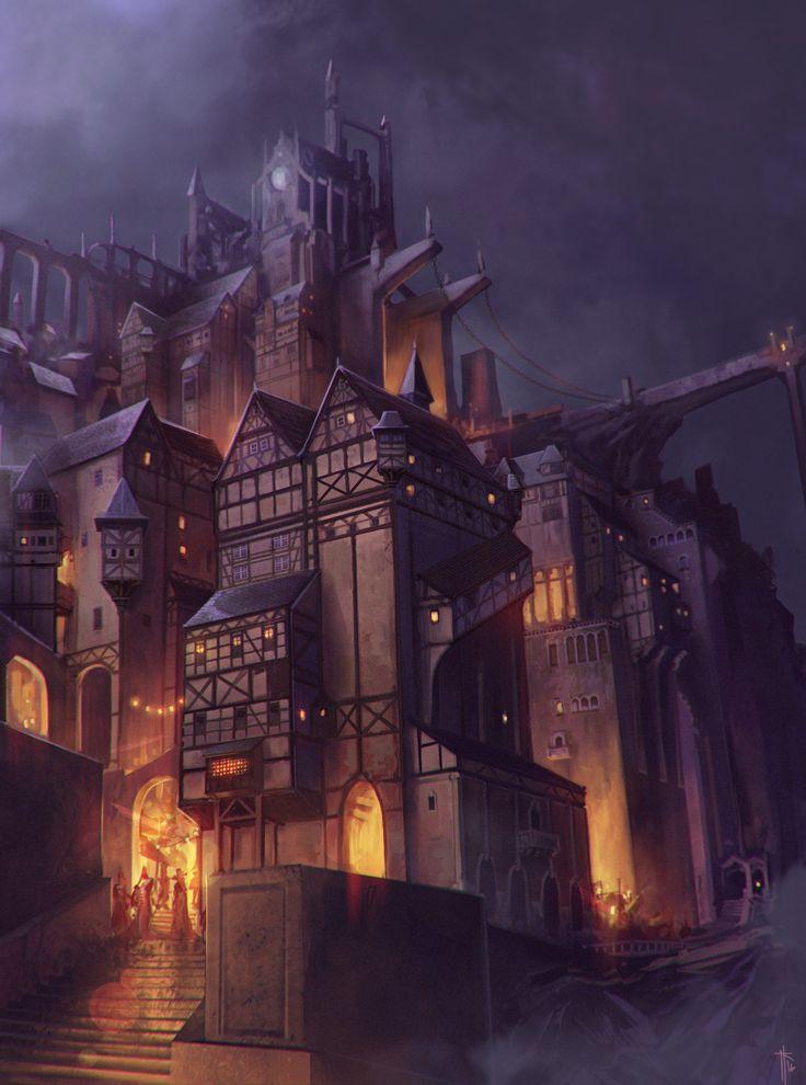 ArtStation - Castle, Jens Ka