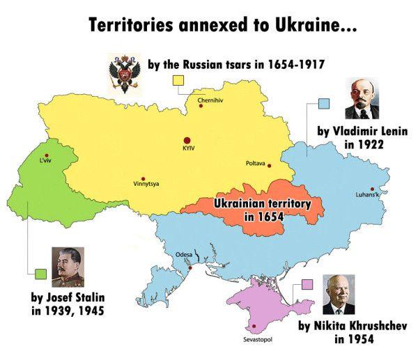 Harta Ucraina