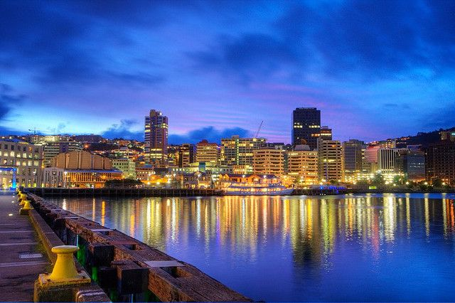 Wellington, New Zealand by Modern Day Nomad, via Flickr