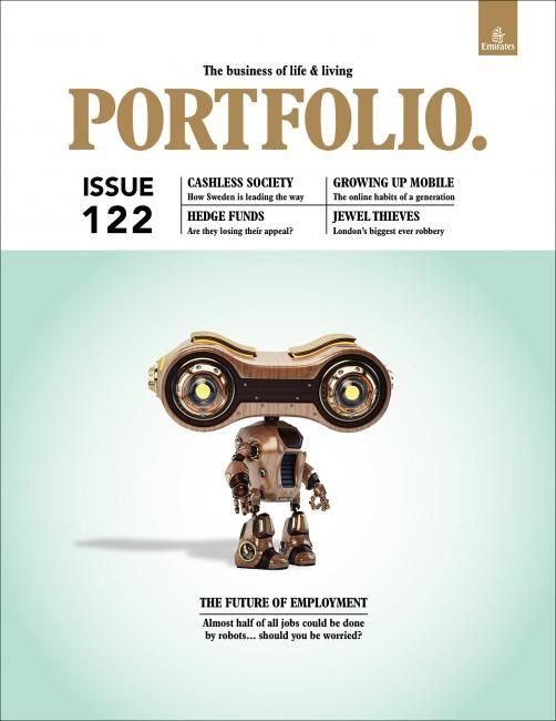 Portfolio mag designed by Motivate Publishing Group Editor Mark Evans