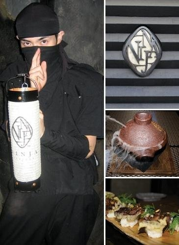 Loved the experience at Ninja Restaurant in Akasaka, Tokyo, Japan. You must pass a series of tests before the ninja-waiter can lead you to a safe room of delicious food and ninja magic!