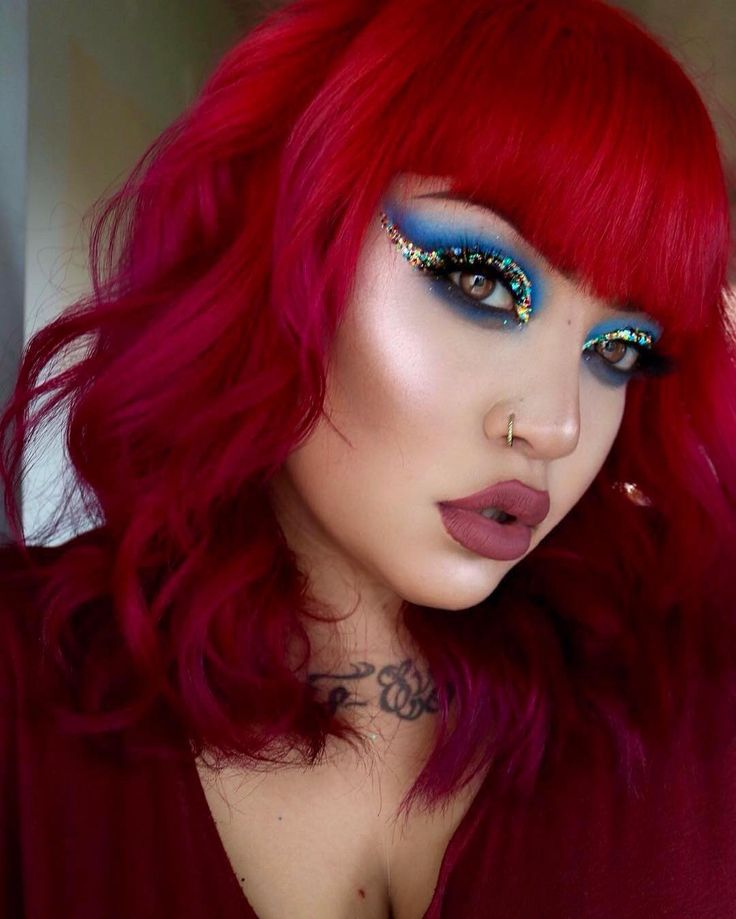 Best 25+ Blood red hair ideas on Pinterest | Shades of red ...