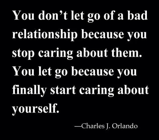 Quotes About Being In A Bad Relationship: Relationship. Self Love. Quote.