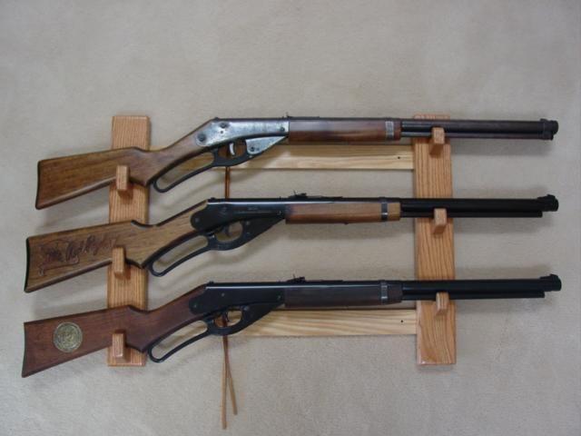 Pistol Racks Item 7796084 Red Ryder Bb Gun Wall Display