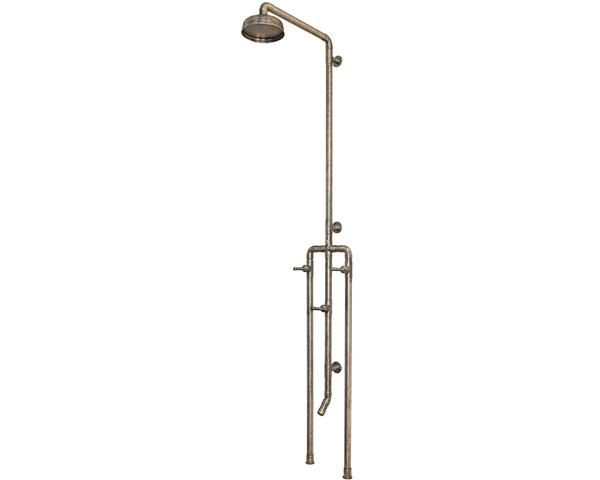 image of outdoor shower plumbing