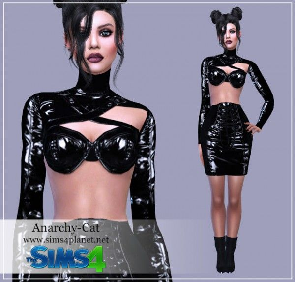 Anarchy-Cat: Clothing for females 45 • Sims 4 Downloads
