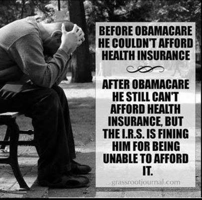 This is your amazing, wonderful 'Affordable Health Care'. Thanks Obama!