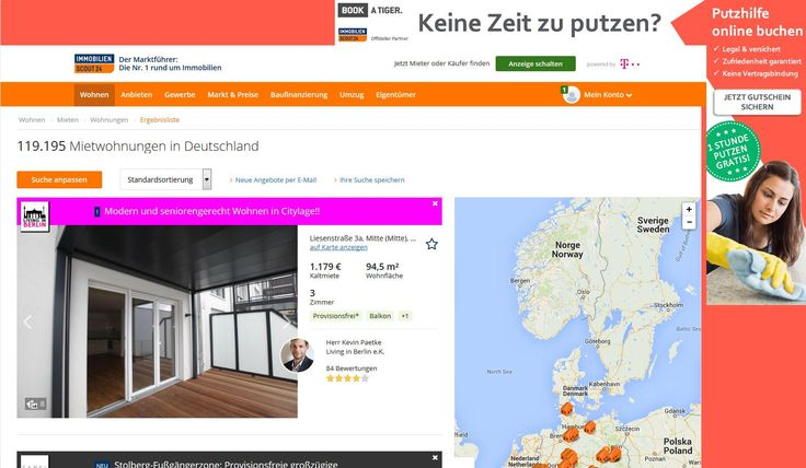 BOOK A TIGER kooperiert mit ImmobilienScout24