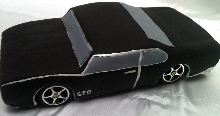 Gto Cake My Portfolio Of Cakes Pinterest Cars Car