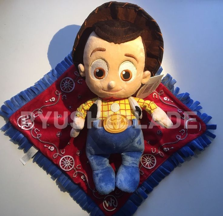 RARE - NWT - Disneyland Parks Disney Babies Toy Story Woody in a Blanket Plush #Disney