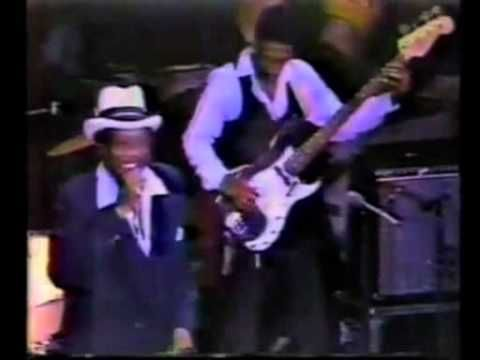 Bobby Blue Bland - Chicago 1981 with Wyne Bennet and Mel Brown - YouTube