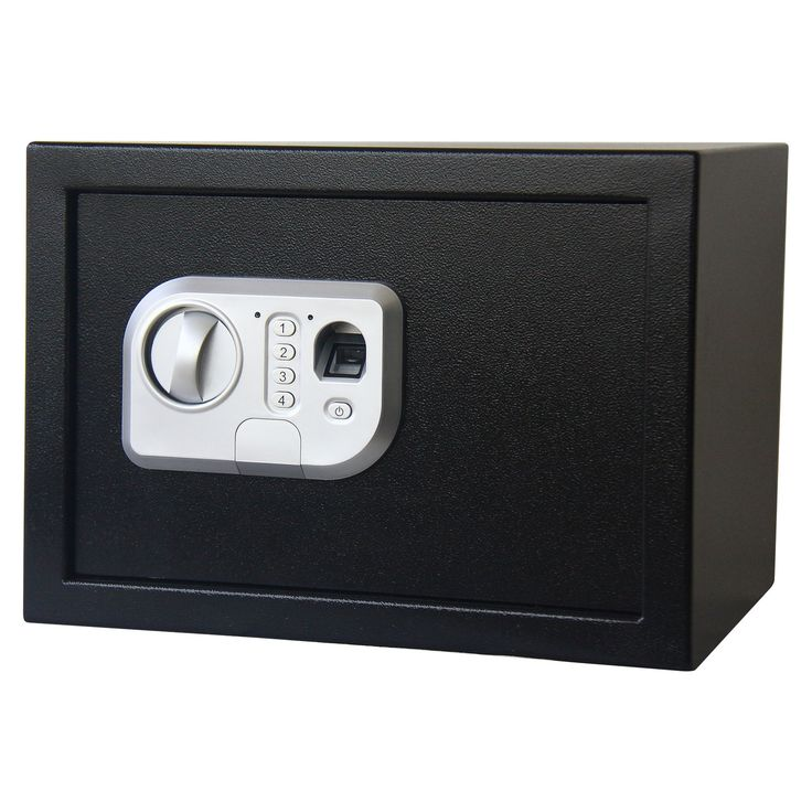 Stalwart Stalwart Fingerprint and Digital Lock Safe
