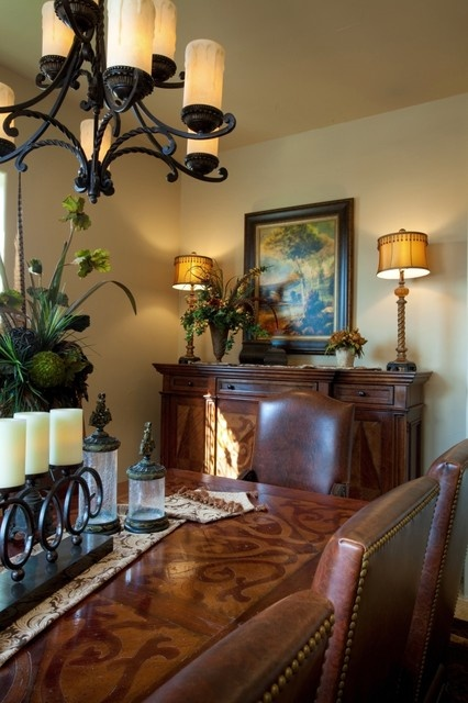 Tuscan Elegance Dining Room Mediterranean