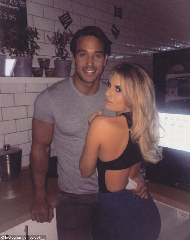 Still going strong! TOWIE lovebirds James 'Lockie' Lock and Danielle Armstrong proved they...