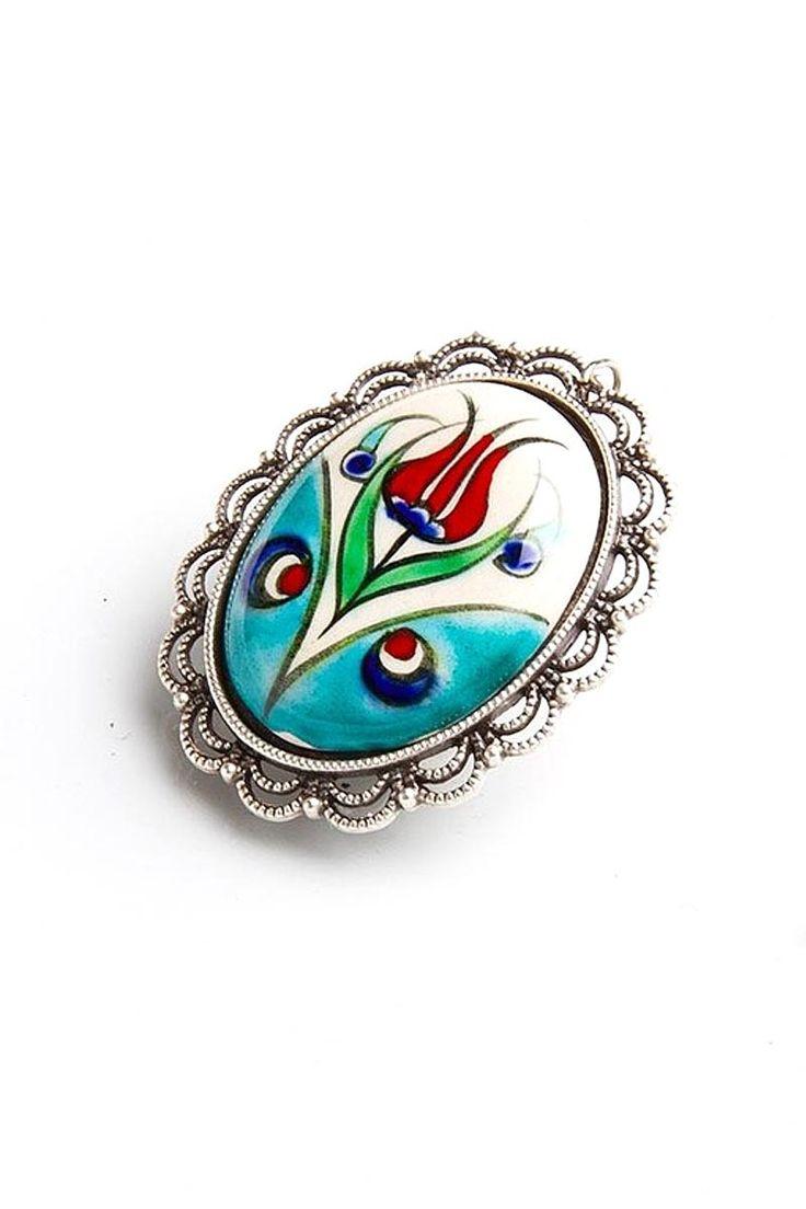 Turkish tile art - necklase