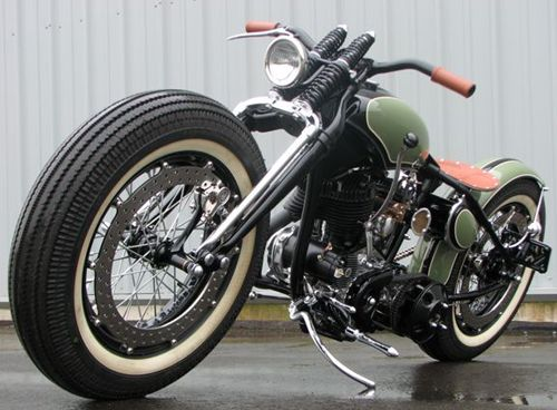 1946 Panhead custom this looks like a sweet ride...now get an #insurance #quote from House of Insurance in Eugene, Oregon....www.myhouseofinsurance.com