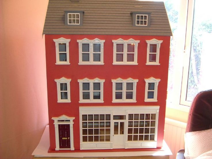 For Sale - New unique hand made dolls house for sale - The Dolls House Exchange