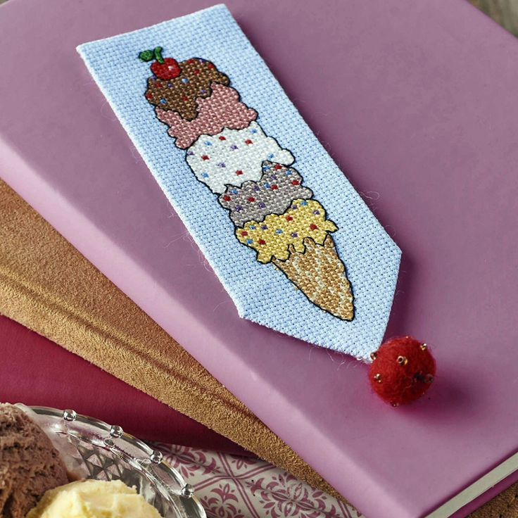 Scoops and Sprinkles - Available in CrossStitcher Magazine 294