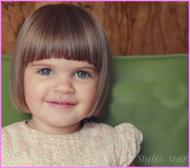 Medium haircuts for little girls with bangs - http://stylesstar.com/medium-haircuts-little-girls-bangs.html