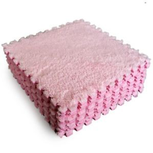 play rugs and play mats | ... Floor-Covering-EVA-Foam-Puzzle-Floor-Mats-Play-Mat-GYM-Kids-Pink-Warm