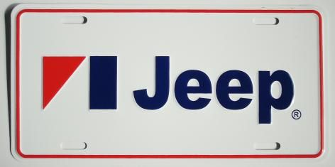 Jeep & AMC Novelty License Plates for Sale