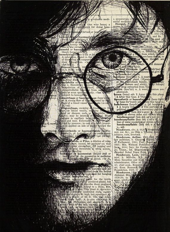 Digital Drawing of Harry Potter Vintage by ThetisCreations on Etsy, $8.00