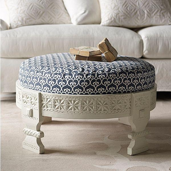 Repose-pieds ottoman style-bohème-intérieur-1