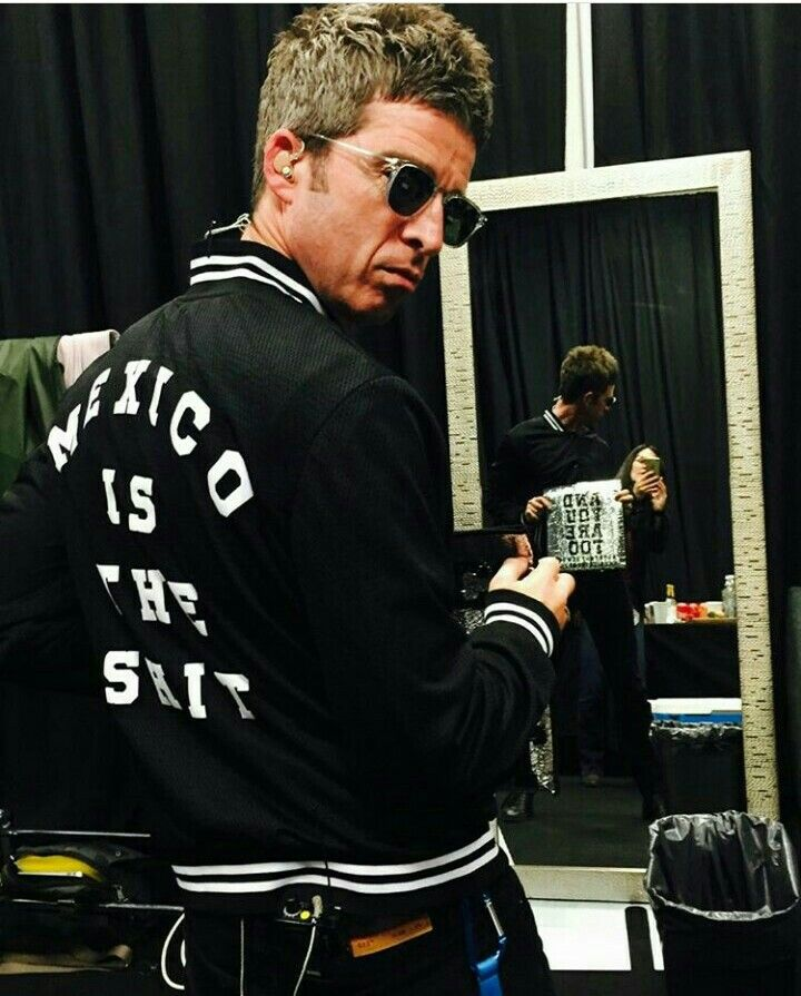 Noel Gallagher in Mexico 3 oct 2017