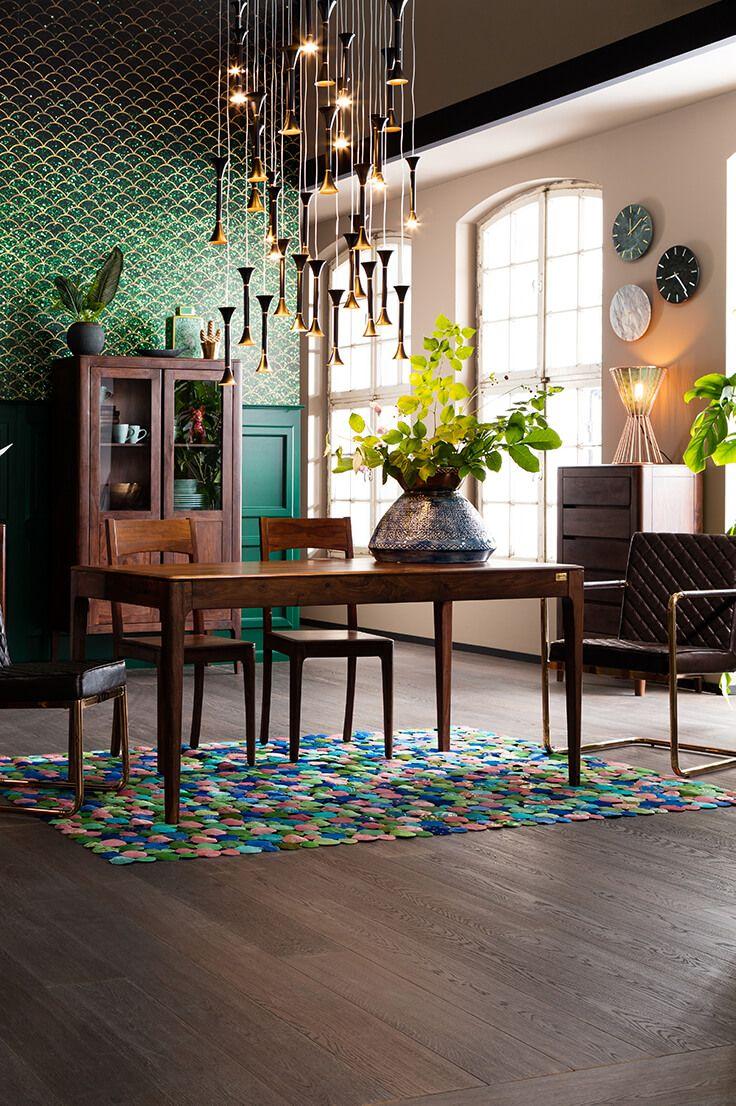Collection Brooklyn Walnut Salle A Manger Table Kare Design Design Mobilier De Salon