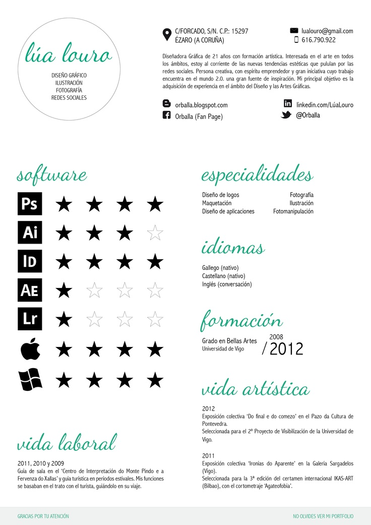 41 best Curriculum vitae images on Pinterest Creative resume - example ng resume