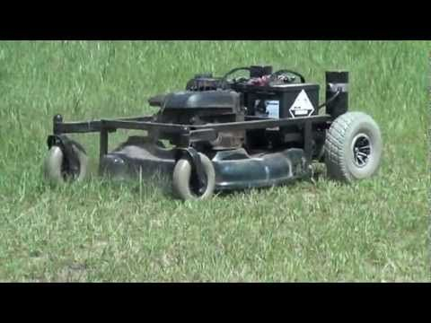 RC LawnMower with Sabertooth 2x25