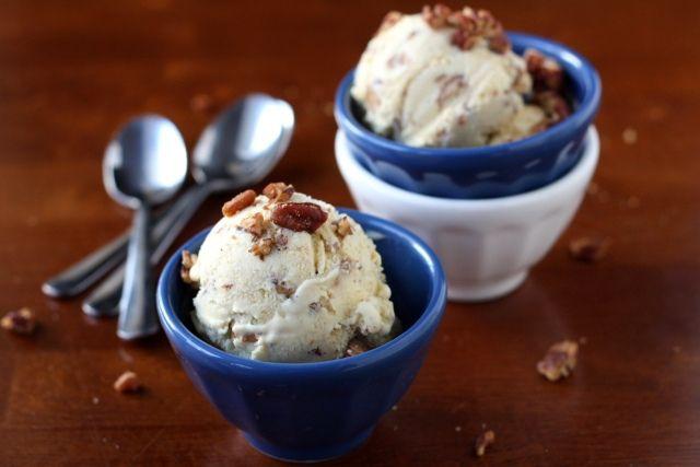 Recipe - Butterscotch Pecan Ice Cream | Recipe - Ice cream | Pinterest