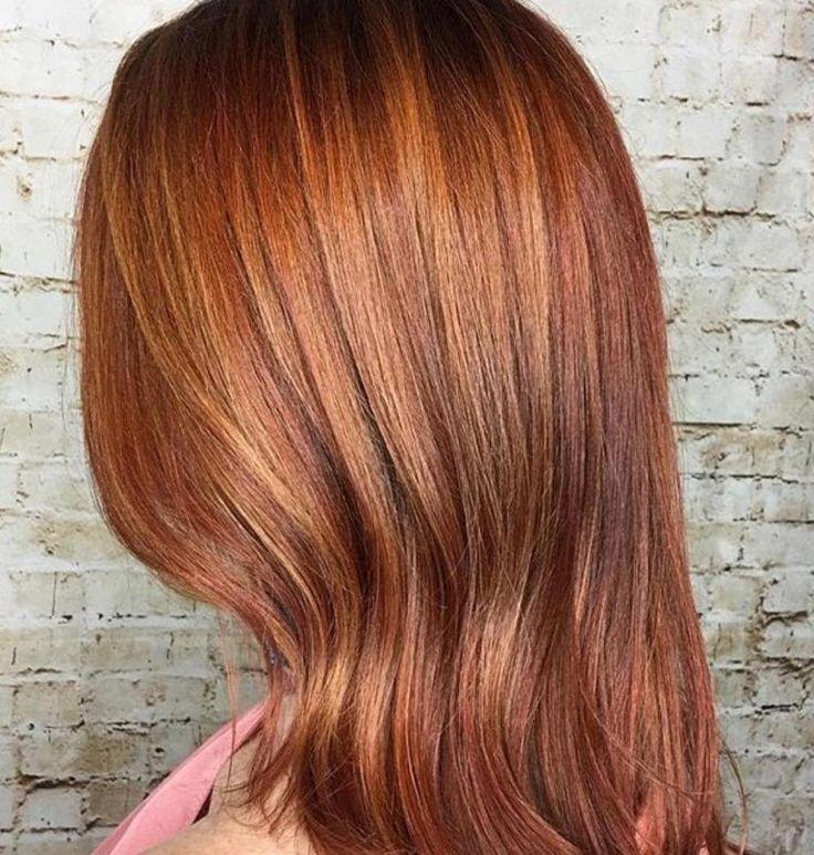 Волосы цвета клена фото