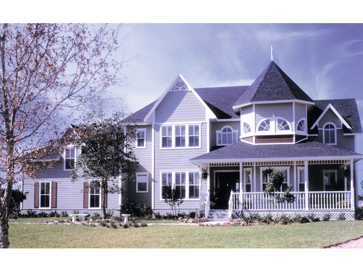 1000 images about purple houses barns 39 n more on for Victorian house plans with turrets