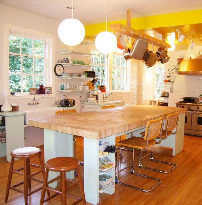 125 best butcher block countertops images on pinterest - Cheap portable kitchen island ...