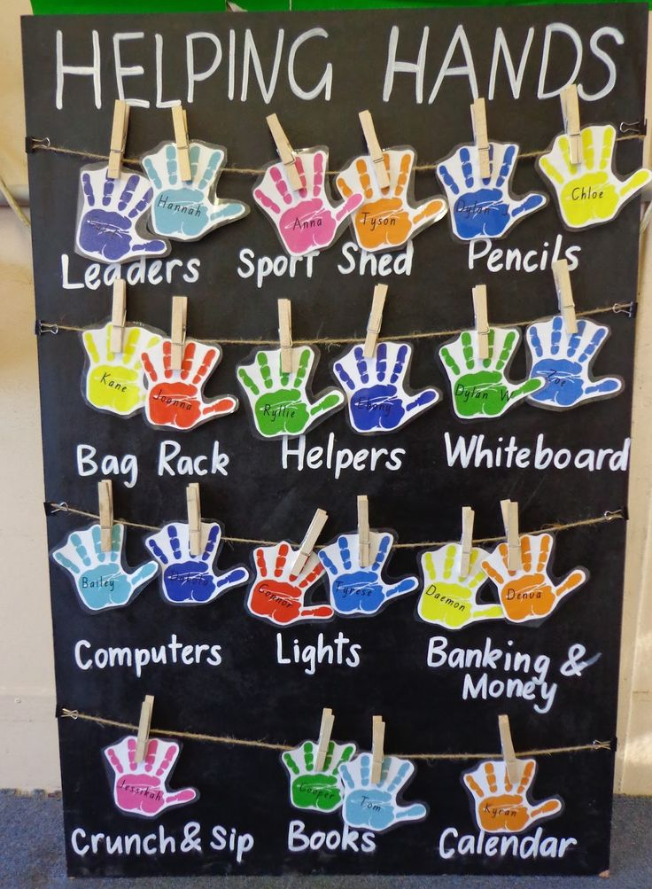 Helping Hands Job Board   You will need:    Particle board  Black Chalkboard Paint  Twine  Wooden Pegs  Liquid Chalk Pen  Hand Template  ...