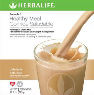 Batido con sabor a cafe latte, Sustituya una comida por un batido Herbalife www.goherbalife.com/nutricel/es-US/Catalog/Control-de-Peso/Formula-1