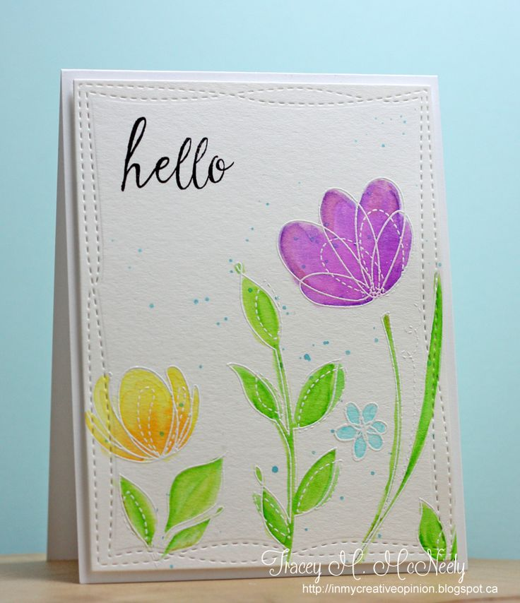 Spring Flowers by Simon Says Stamp