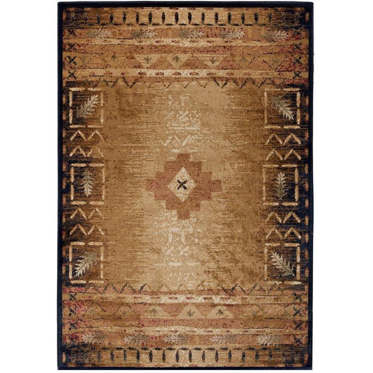 Confer Your Home A Traditional Appearance By Using This Orian Rugs Phoenix  Evening Indoor Area Rug.