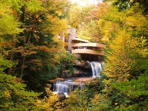 Falling water- Frank Lloyd Wright