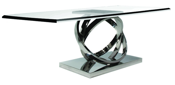 """Armilar"" #GentleGeometry #GreenApple #GAhomestyle #homestyle #table #stainlesssteel #glass"