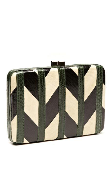 rectangular resin clutch - Black Serpui noBYmkYg