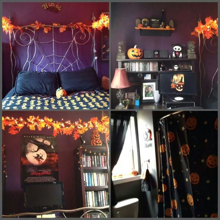 Halloween bedroom