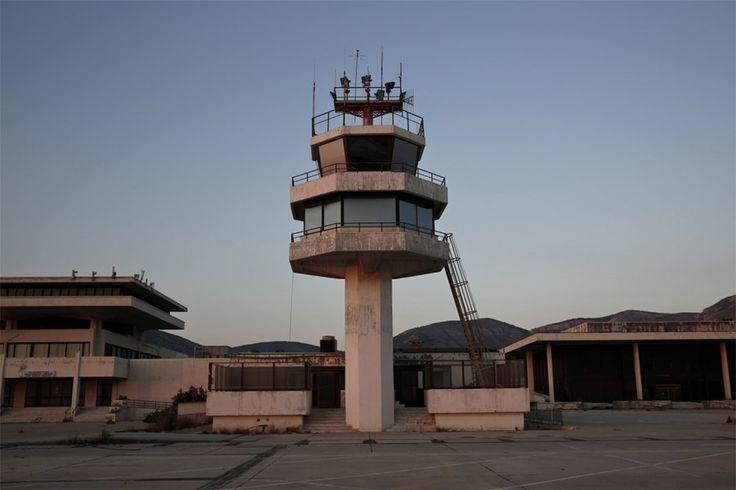 Abandoned airport, Hellenikon, Greece